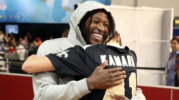 Why Alvin Kamara plans to 'kneel confidently'