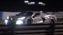 Watch, listen as Chevy Corvette C8.R tests at Sebring