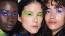 Sombras coloridas dominam as passarelas internacionais; inspire-se na ideia
