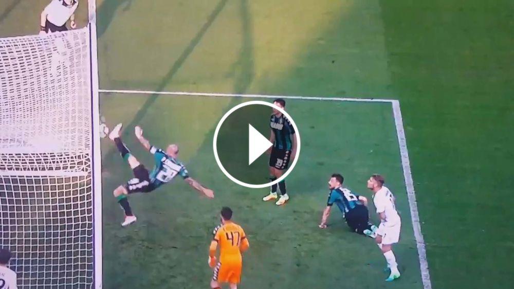 VIDEO: ¡Aplausos! Cannavaro protagonizó la salvada del año