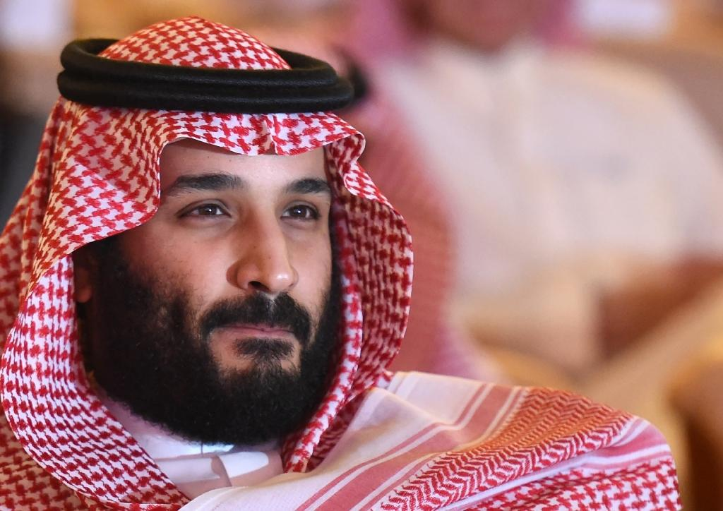 Saudi Crown Prince Mohammed bin Salman, shown here attending an investment forum in October, has launched a sweeping purge (AFP Photo/FAYEZ NURELDINE)