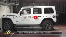 生命受到威脅?Jeep Wrangler 在 NCAP 撞擊測試僅獲一星超低評級