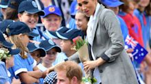Not a dry eye: The moment Dubbo schoolboy charms Harry and Meghan