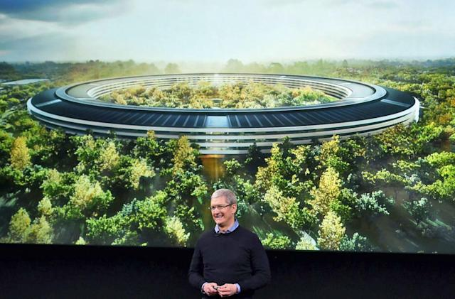 Apple joins Amazon, Google and Facebook in AI research group