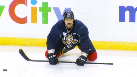 Fighting Tips With Florida Panthers' George Parros