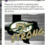 Green and gold: School districts encourage students to wear Santa Fe colors