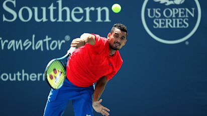 Kyrgios on Nadal victory: These matches aren't the problem