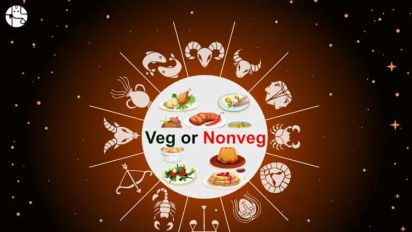 What astrology says about veg and non-veg food