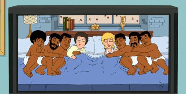 Family Guy celebrates the jump to widescreen, shows viewers what they've been missing