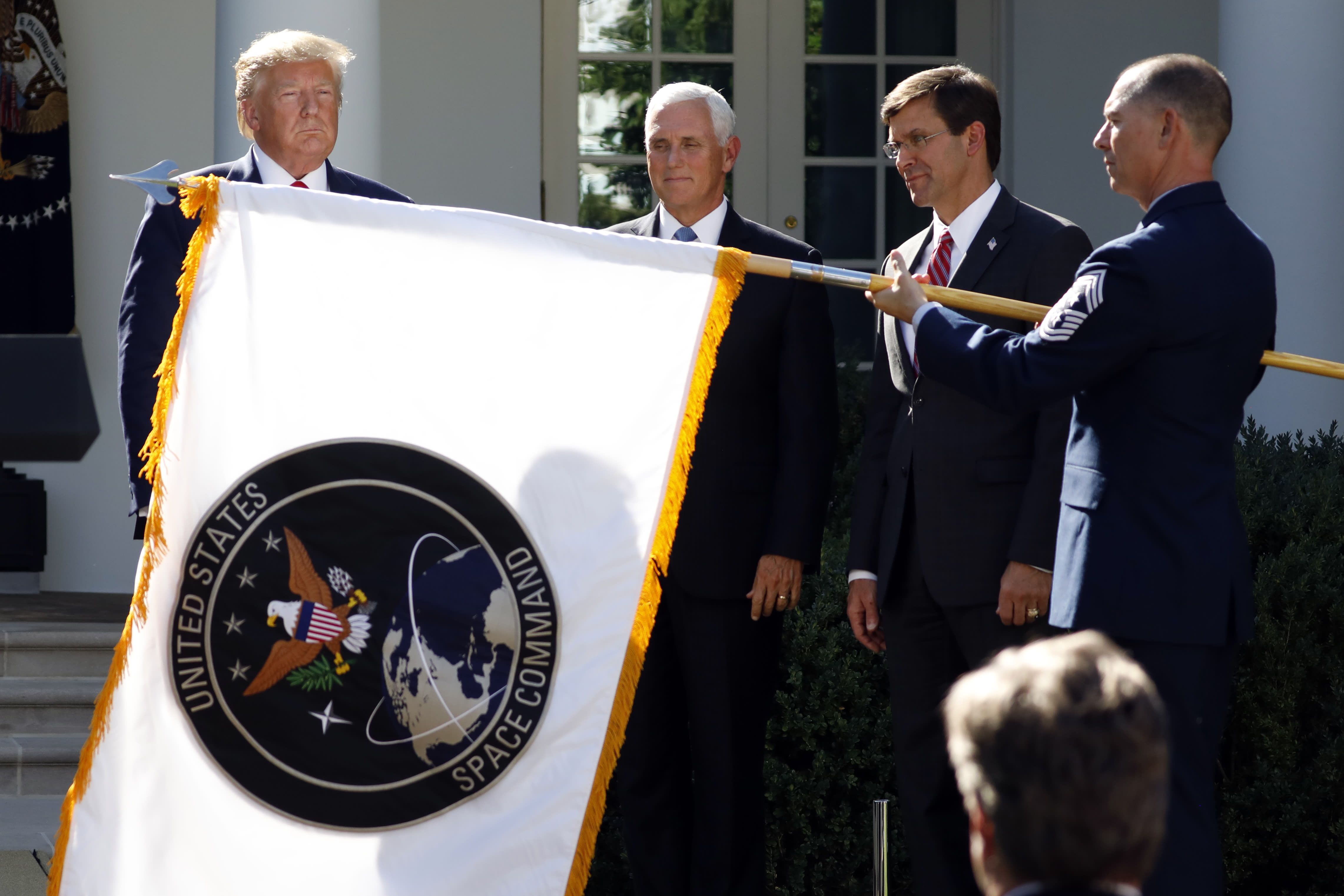 Inspector general reviews Trump relocation of Space Command