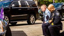 Floyd, Minneapolis vieta ai poliziotti stretta al collo