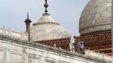 Taj Mahal remains shut as India reports record daily virus cases