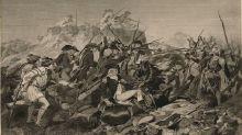 Los mercenarios alemanes que el rey de Inglaterra contrató para luchar en la Guerra de Independencia estadounidense