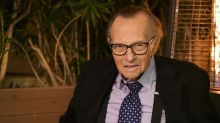 Larry King 'continues to improve' while hospitalized with COVID-19, says family