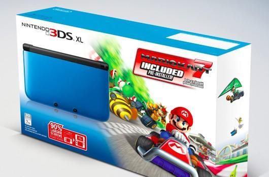 3DS XL holiday bundle includes free Mario Kart 7