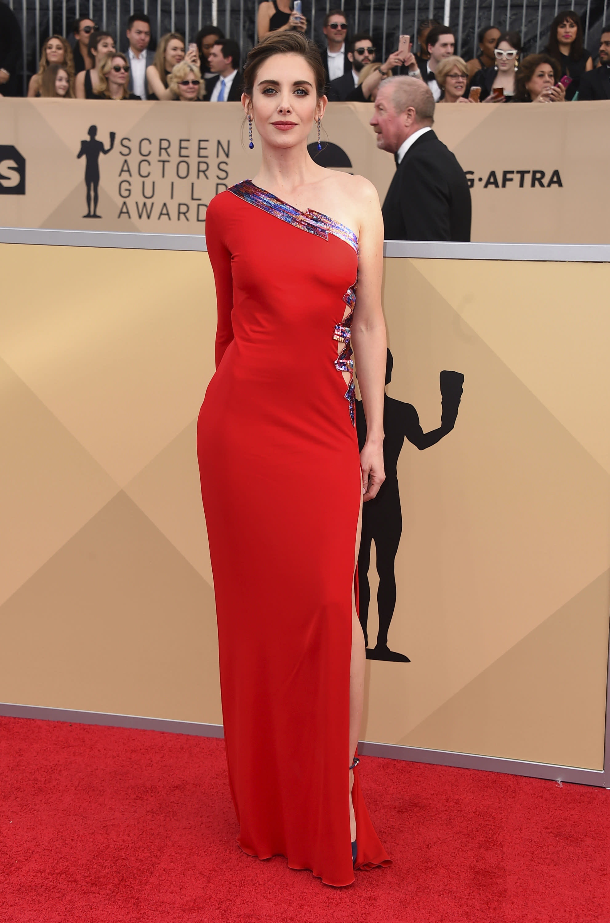 Alison Brie addresses brother-in-law James Franco's sexual ...