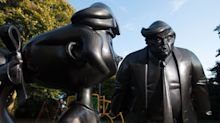 Roald Dahl's Matilda stands up to Donald Trump in defiant new statue