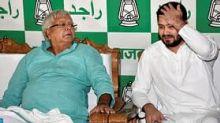 Lalu Yadav Out on 9 Nov, Nitish's Farewell Next Day: Tejashwi
