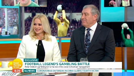 Peter Shilton overcame decades-long gambling addiction with help from wife who likened it to heroin dependancy