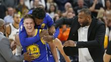 Unlikely man off bench saves the day for Warriors in epic comeback win over Jazz