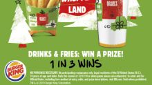 BURGER KING® Restaurants Announces Winter Whopperland Sweepstakes