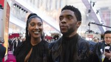 Chadwick Boseman's wife accepts Gotham award for her late husband with moving speech