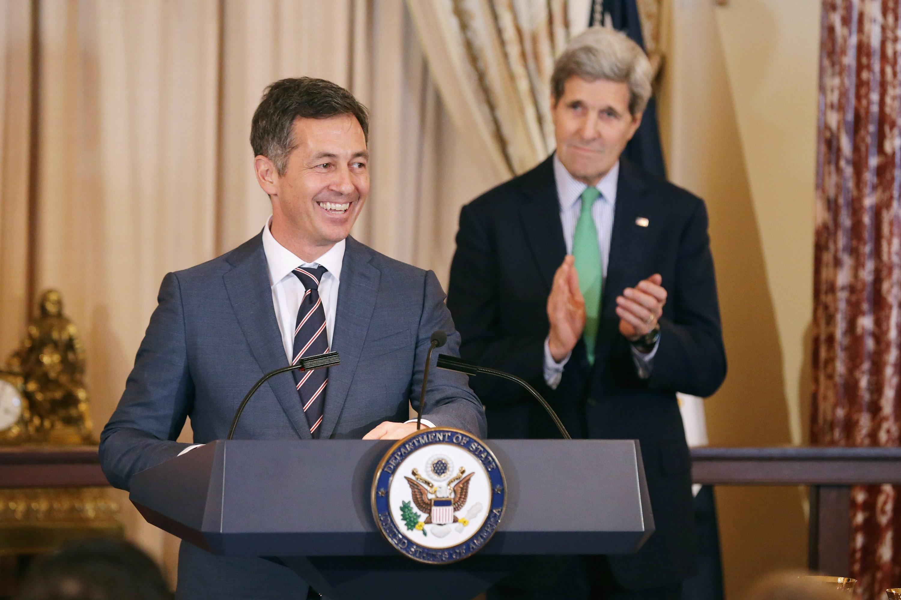 Trump Keeps Obama's Top Gay Rights Envoy at State Department