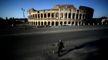 Italy cheers first drop in critical virus patients