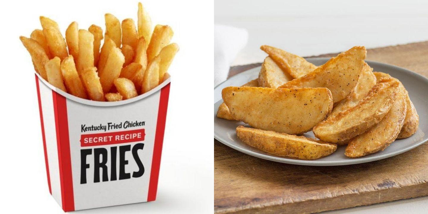 KFC Has Ditched Potato Wedges For New Secret Recipe Fries
