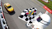 Late pit stop propels Joey Logano to Richmond win