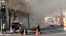 Fire Destroys Recycling Center in Iowa City