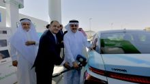 Saudi Aramco and Air Products Inaugurate Saudi Arabia's First Hydrogen Fueling Station