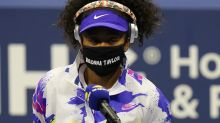 2020 US Open Day 1: Naomi Osaka wears Breonna Taylor mask, Novak Djokovic cruises
