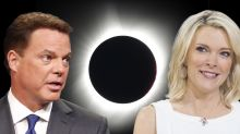 Some anchors throw shade at eclipse