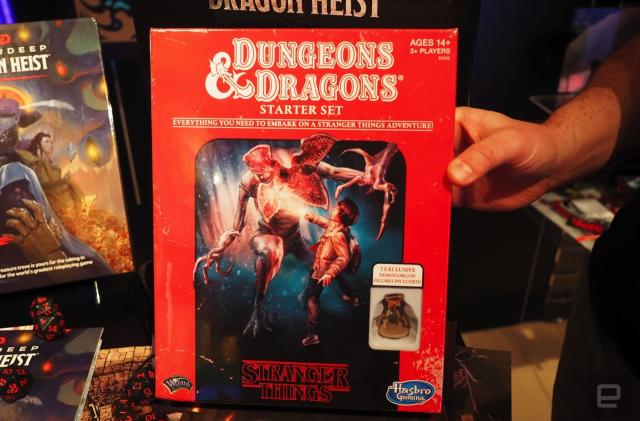 A 'Stranger Things' version of 'Dungeons and Dragons' arrives April 22nd (updated)