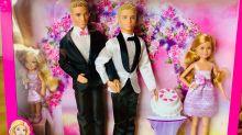 Presente de tio para sobrinha inspira fabricante a criar 'Barbie casamento igualitário'