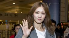Lee Sung Kyung in Singapore for the opening of Louis Vuitton exhibition