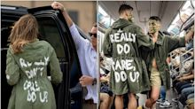 #IReallyDoCare, la respuesta viral a la chaqueta de Melania Trump