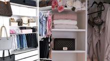 最聰明衣櫃整理法!跟着這樣做,衣櫃大一倍!