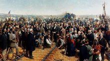 El día que el Este y el Oeste de Norteamérica quedaron unidos por el ferrocarril