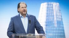 Salesforce stock ticks higher after hours on earnings beat, full-year outlook