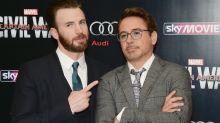 Chris Evans shows off cool 'Captain America' Camaro he got from Robert Downey Jr.