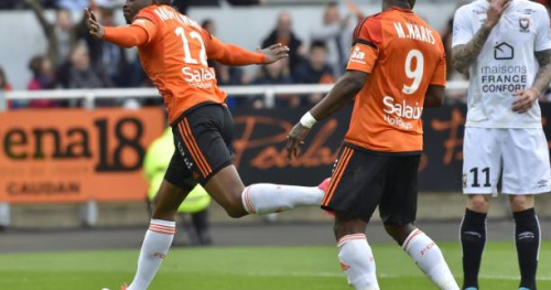 Foot - L1 - Vainqueur de Caen, Lorient n'est plus lanterne rouge
