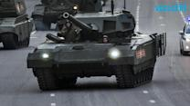 Russia Shows Off New High-tech Tank