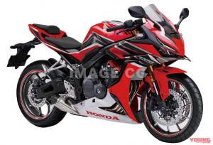 HONDA將復活搭載400cc四缸引擎的「CBR400RR」!?