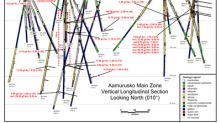 Aurion Identifies Possible High Grade Mineralized Shoot at Aamurusko