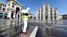 Muertes por coronavirus en Italia no dan tregua, pero cantidad de casos nuevos se estabiliza