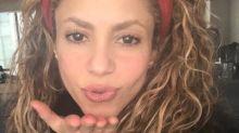 Shakira deja boquiabiertos a sus fans al posar sin maquillaje