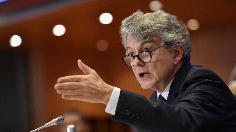 Le Parlement européen valide la candidature de Breton