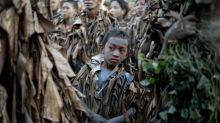 Hundreds celebrate 'mud people' festival in the Philippines